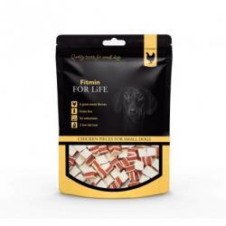 FFL dog & cat treat chicken pieces 70g