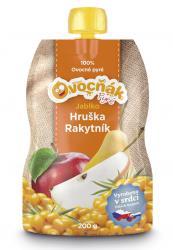 Jablko/hruška/rakytník 200 ml pyré Ovocňák