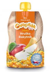 Jablko/hruška, rakytník 200 ml pyré Ovocňák