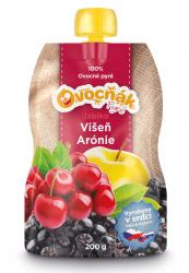 Jablko/višeň, arónie 200 ml pyré Ovocňák