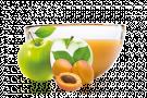 Jablko/meruňka 200ml pyré Ovocňák